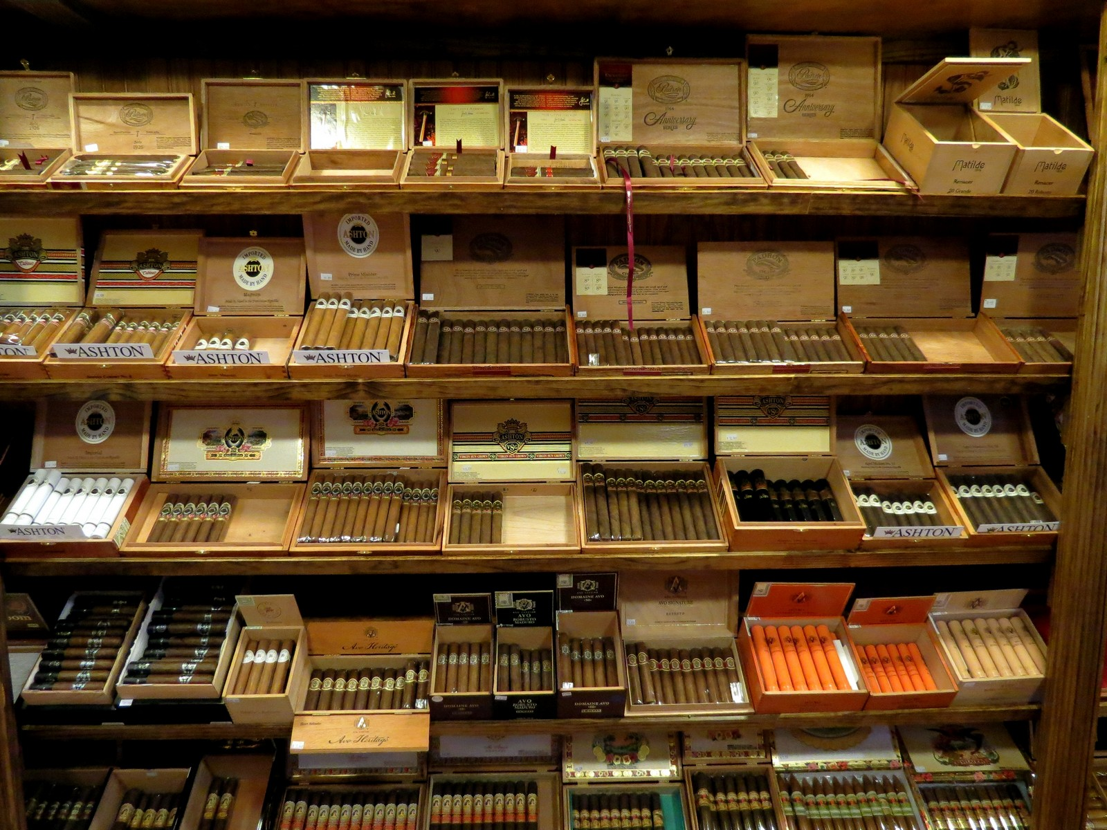 Humidor Section