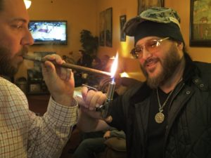 JD lighting one up for Kyle