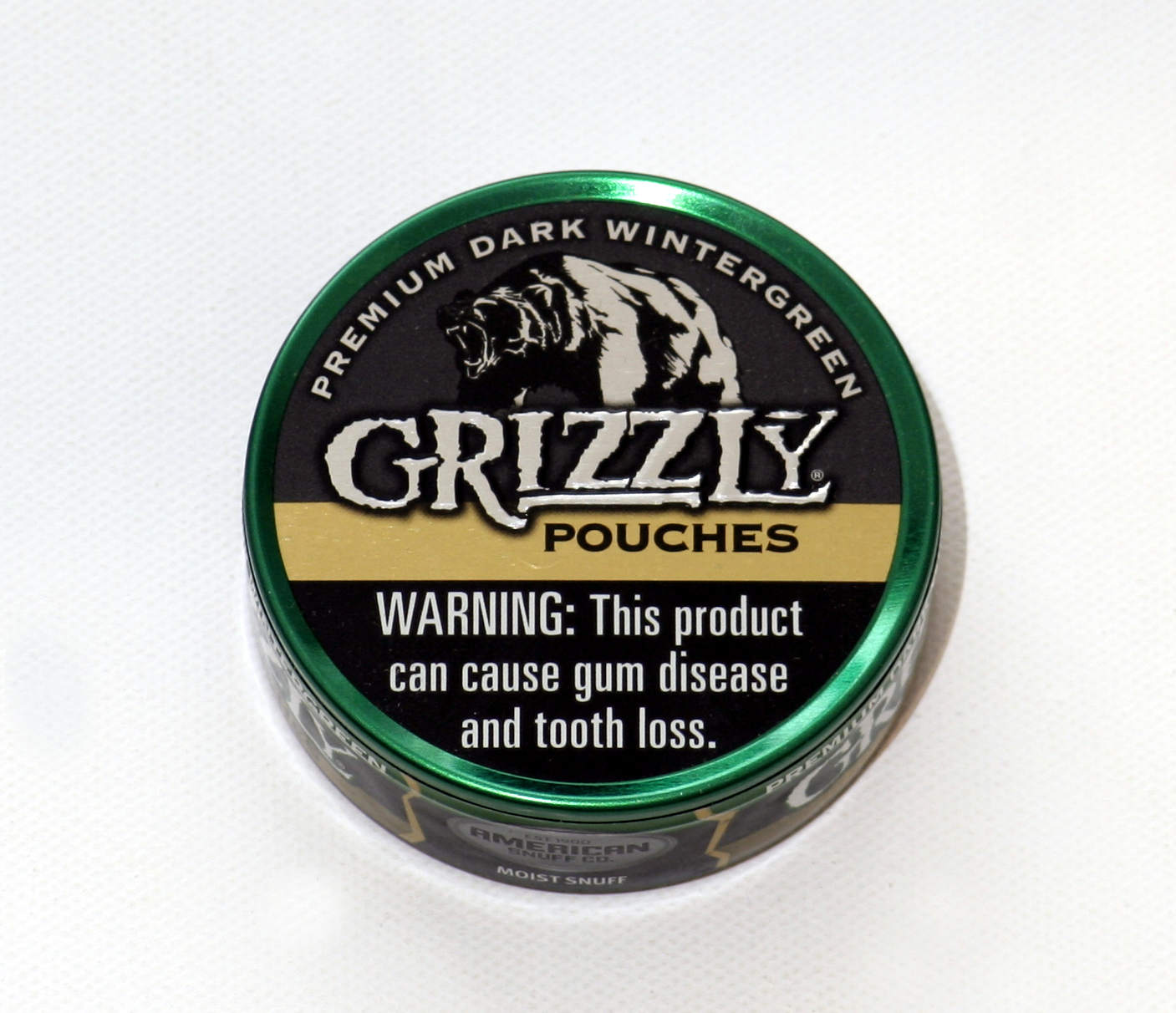 grizzly dark wintergreen pouches godfather cigars